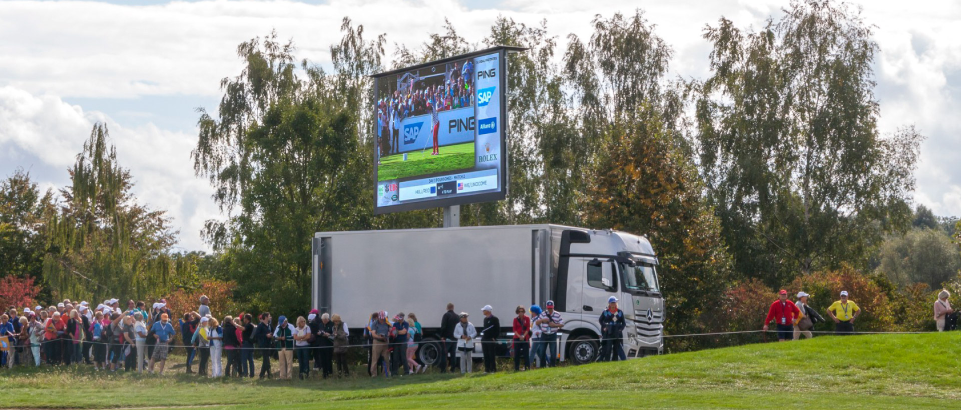LED-Truck/Trailer Golf Sankt Leon-Rot 2015