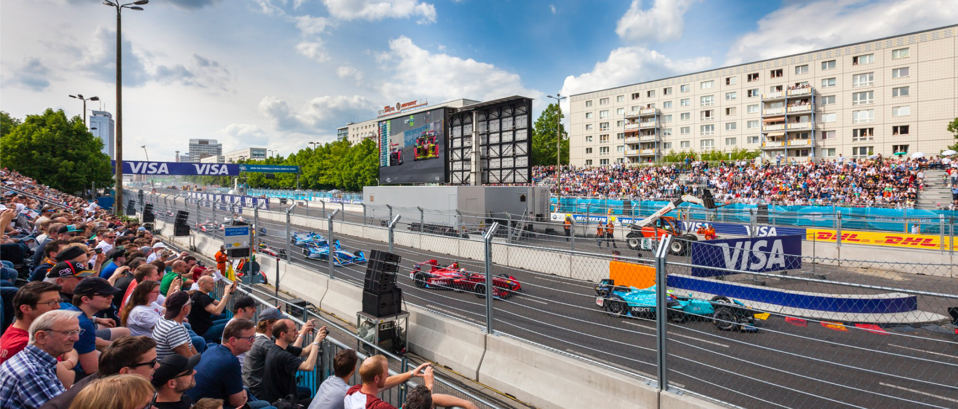 LED-Truck/Trailer Formula E 2016 Berlin